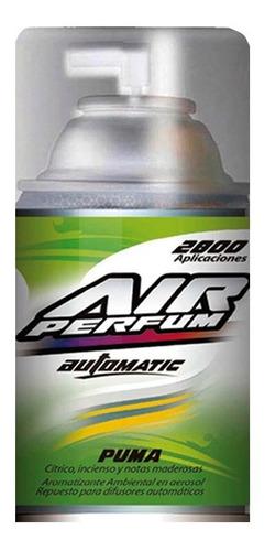 Repuesto Aromatizante Automático En Aerosol Puma 185grs