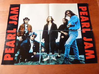 Poster Doble Pearl Jam Y Def Leppard