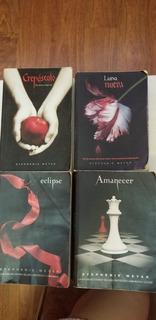 Libros Saga Crepúsculo
