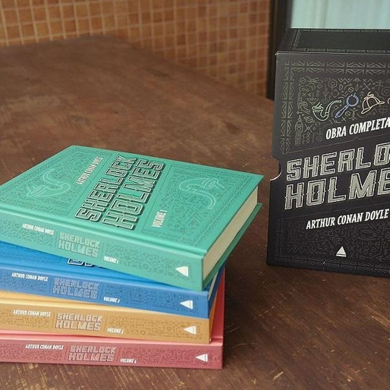 Box Livro - Sherlock Holmes - Arthur Conan Doyle