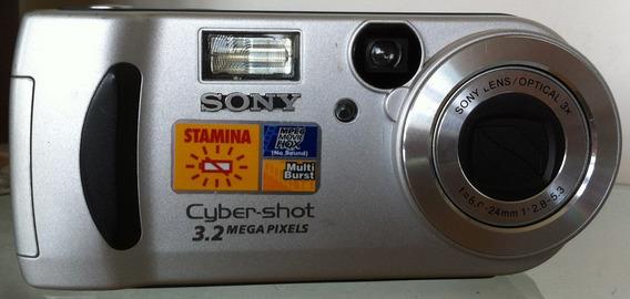 Câmera Sony Cybershot Dsc P71 3,2 Mega Pixels