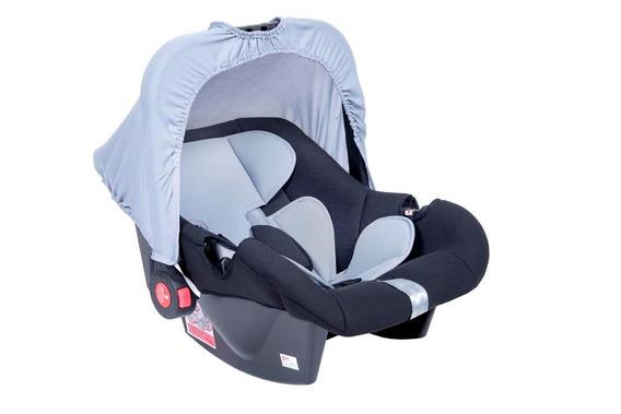 Bebê Conforto Cadeirinha G0+ De 0 A 13 Kg - Preto Cinza