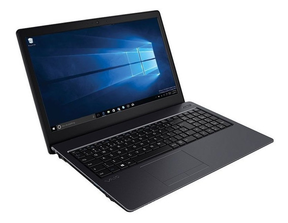 Notebook Vaio Fit 15s I5-7200u 8gb 256gb Ssd 15.6 Fullhd W10