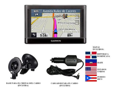 Imagen 1 de 1 de Gps Garmin Navegador Nuvi 42lm Con Mapa Rd, Haiti, Usa Y Pr