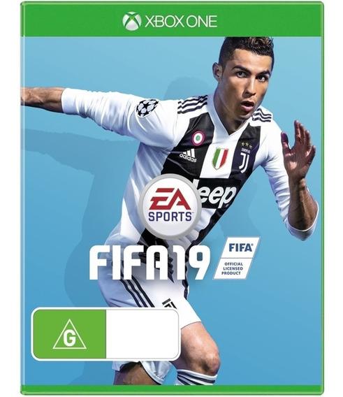 Jogo Fifa 19 Xbox One Midia Fisica Cd Original Novo Futebol