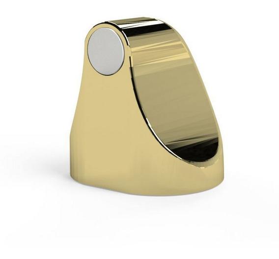 Trava Porta Magnético Universal Proteção Comfortdoor Dourado