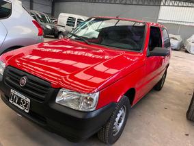 Fiat Uno Van Fire 1.3 2010 Rojo Iyv #expoauto