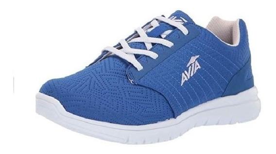 Zapatillas Avia Running Con Elastico Art 10408 Azul