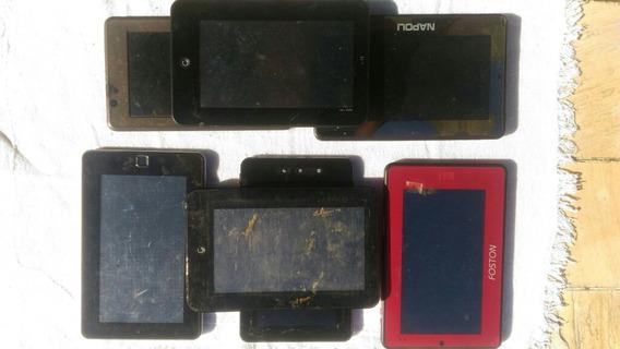 Lote De 07 Tablets Para Pecas