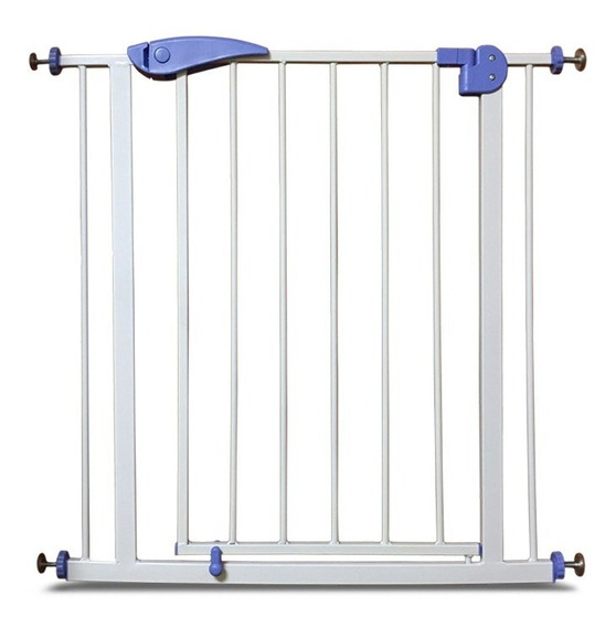 Puerta De Seguridad Bebe Niños Metalica Extensible Escalera Cuotas