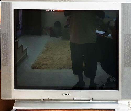 Tv Sony Trinitron De 38 Polegadas Usada Com Todas Funções Fu