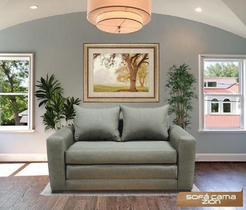 Imagen 1 de 1 de Sofa Cama Zion Dos Plazas Grande Y Comodo - Mr Price