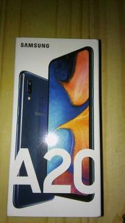 Celular Samsung A20, 32gb Memoria Interna , 3gb Ram Liberado