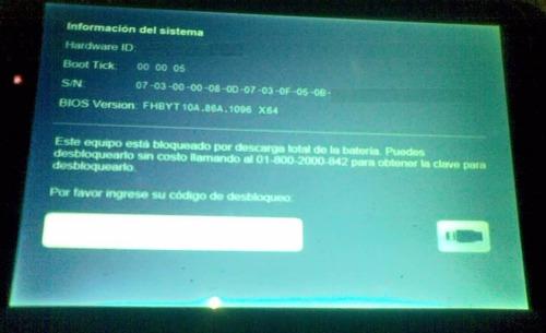 Codigo Desbloqueo Tablet Sep Win 8