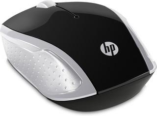 Mouse Inalambrico Hp 200 Plateado 2hu84aa