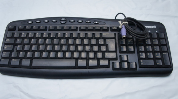 Teclado Ps/2 Microsoft Wired Keyboard Rt2300