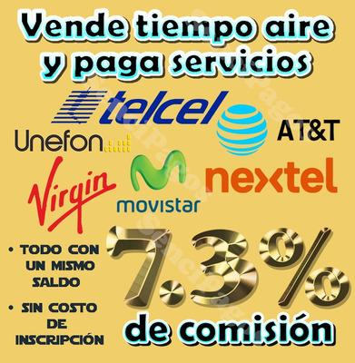Vende Recargas Telefónicas Y Cobra Servicios Todo México.