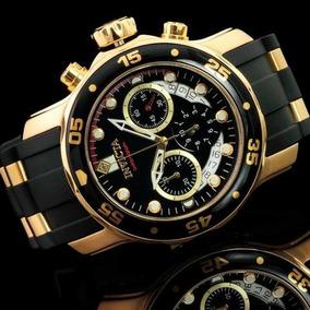 Relógio Invicta Pro Diver 6981 - Ouro 18k
