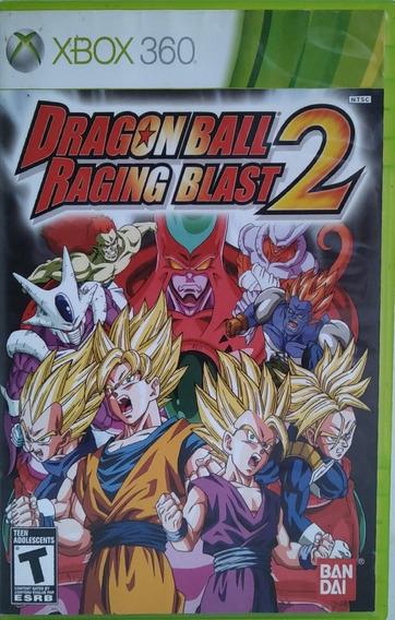 Dragon Ball Raging Blast 2 Original Xbox 360 Mídia Física