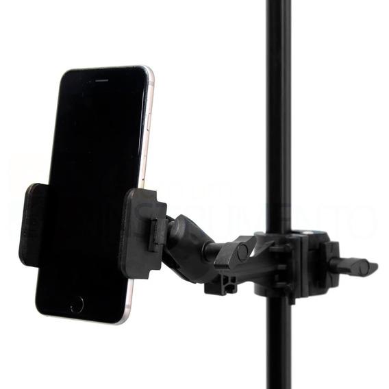 Suporte De Celular Para Mesa Ou Pedestal Saty Sc-01