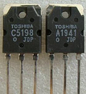 Transistor 2sc5198 2sa1941 2sa1941 2sc5198 C5198 A1941 Par