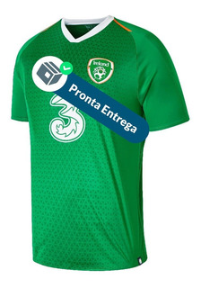 Camisa Irlanda 18/19 1º Unif. - Pronta Entrega