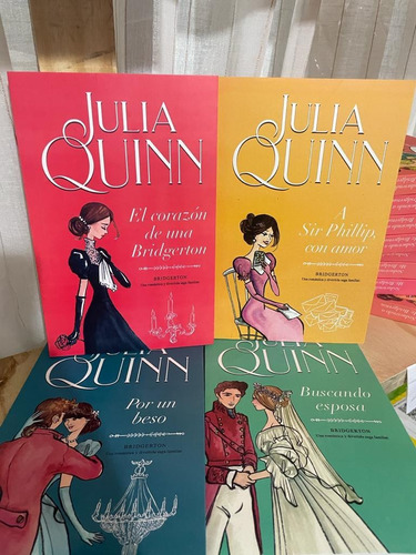 Bridgerton Julia Quinn 5,6,7 Y 8