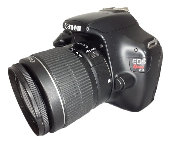 Camera Canon T3 + Lente 18-55 3.5-5.6 Nova - Vitrine