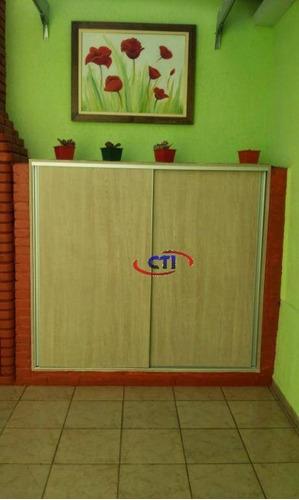 Imagem 1 de 30 de Sobrado Com 3 Suítes À Venda, Por R$ 695.000 - Vila Scarpelli - Santo André/sp - So0482