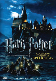 Dvd Harry Potter Colección Completa - Box Set - 8 Dvds