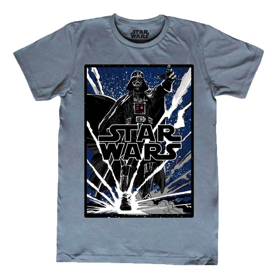 Playera Darth Vader Star Wars Máscara De Látex Lack Of Faith