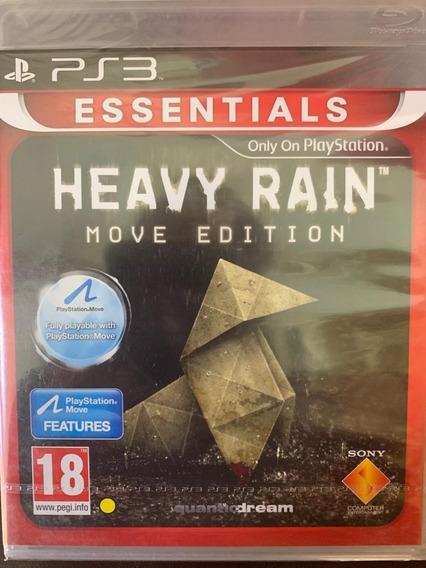 Jogo Heavy Rain Ps3 Midia Fisica