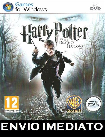 Jogo Harry Potter E As Relíquias Da Morte Parte 1 Pc
