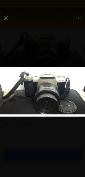 Câmera Analógica Pentax Mz 50 Decoração/vintage/antiga