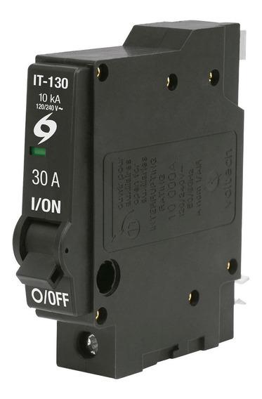 Interruptor Termomagnetico 1 X 30 Voltech 46702