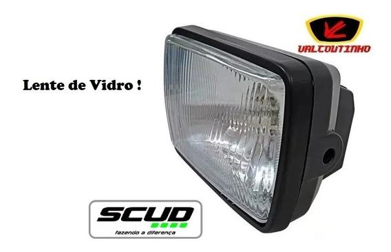 Farol Completo S/lampada Cg125 Today/t83/99 Scud Lente Vidro