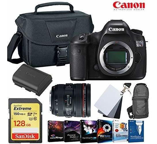 Camara Eos 5ds R Dslr 24-70mm Lente 128gb Memory Card Extr ®