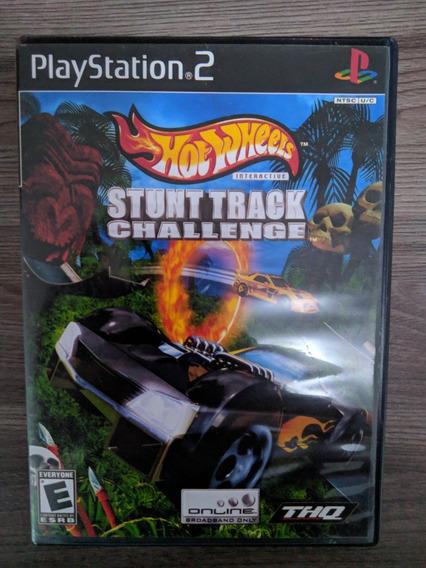 Hot Wheels Stunt Track Challenge - Ps2 Original