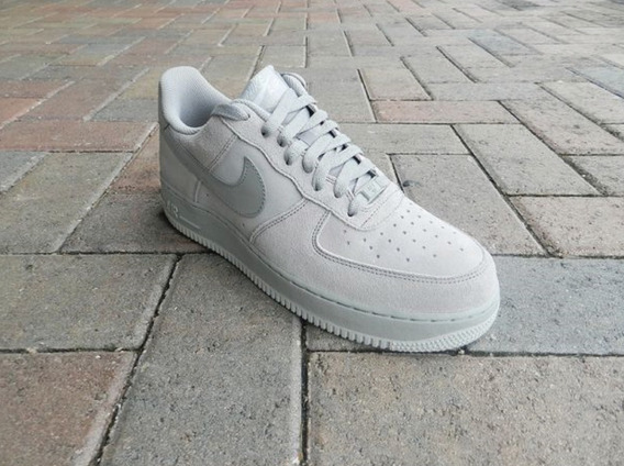 Zapatillas Nike Air Force 1 Low Suede (blanco Tiza) T.42