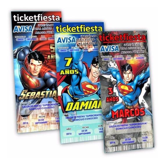 Tarjetas De Cumpleaños Superman Invitaciones Y Tarjetas En