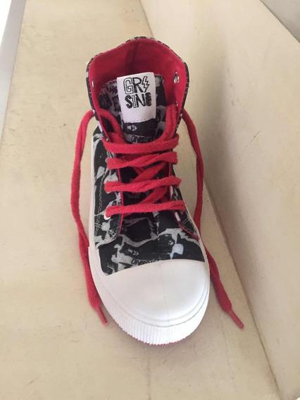 Zapatillas Grisino Talle 34 Como Nuevas
