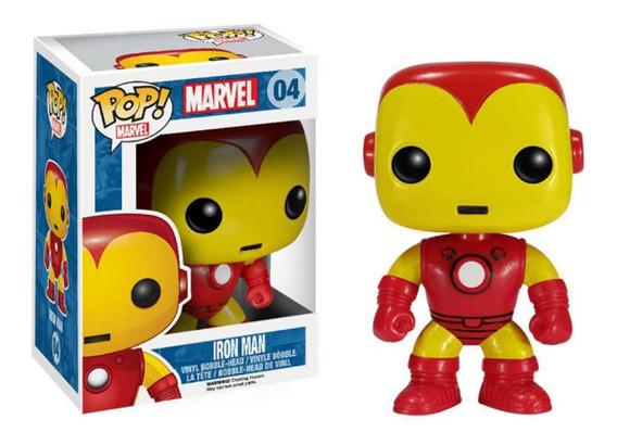 Funko Pop Iron Man Y Spiderman Marvel Original