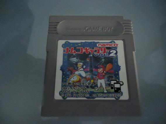 Jogo Namco Gallery Vol 2 Game Boy (original) Japones
