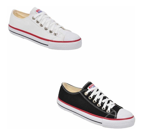 Kit 2 Pares All Star Converse Ct As Cores Ox Original Loja.