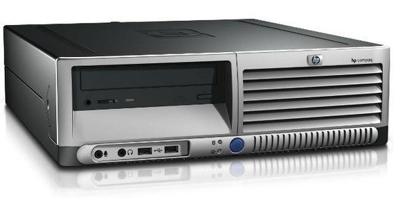 Cpu Hp Dc7600 P4 1gb Hd 40gb Leitor Dvd