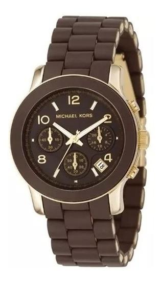 Relógio Michael Kors Marrom Semi-novo Ótimo Estado Mk5238