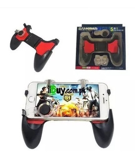 Gamepad L1 R1 Gatilho Controle Analógico Celular 5 In 1