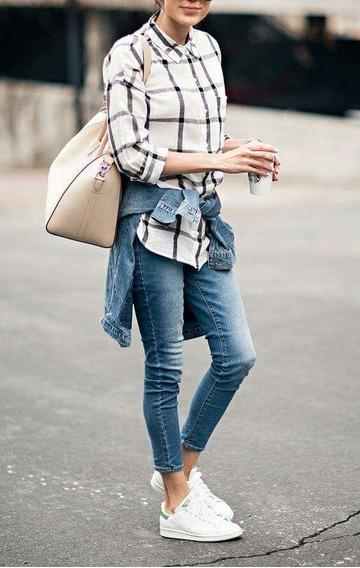 Jean Pantalon Mujer Zara Mujer Celeste Chupin Slim