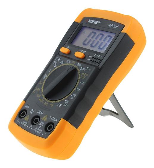 Tester Multimetro Digital Probador Medicion Voltaje Corrient