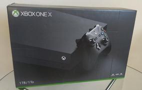 Console Xbox One X 1tb 4k Ultra Hd Original Novo Lacrado